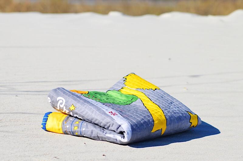 Маленький принт легкое одеяло