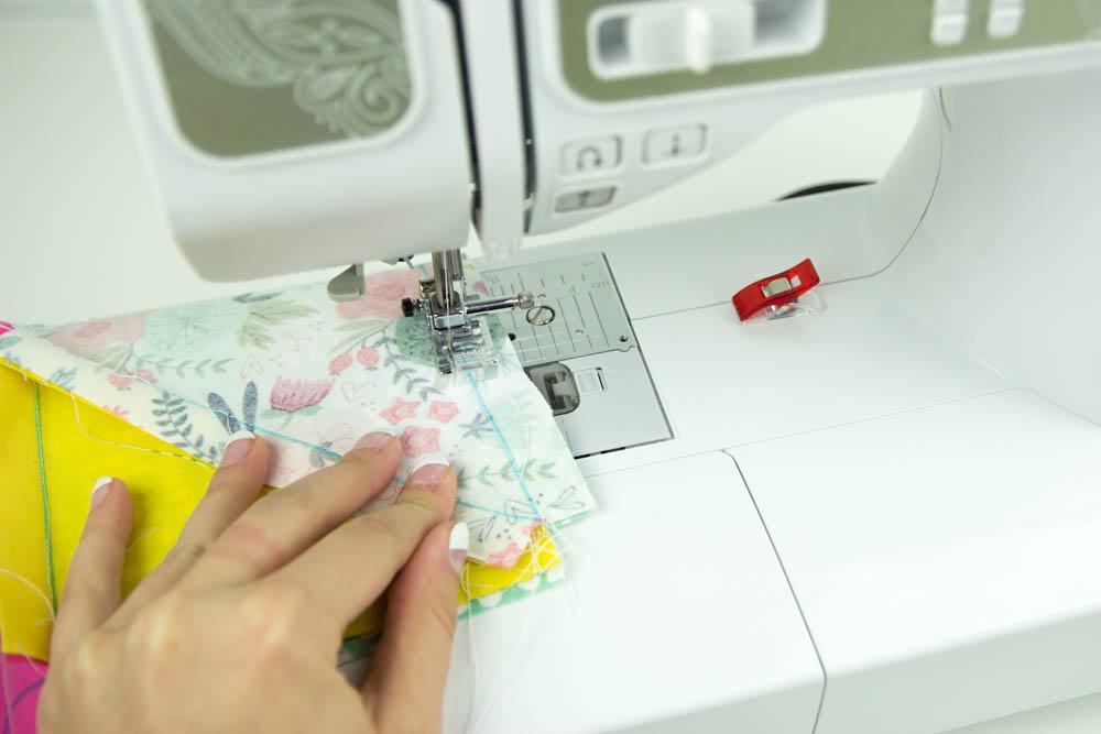 Как сделать стеганый кладочный материал