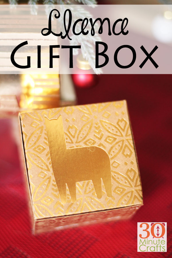 """Коробки для подарков DIY Llama - идеальный способ подарить подарок на праздник ламы! """"Width ="""" 600 """"height ="""" 900 """"/> <span class="""