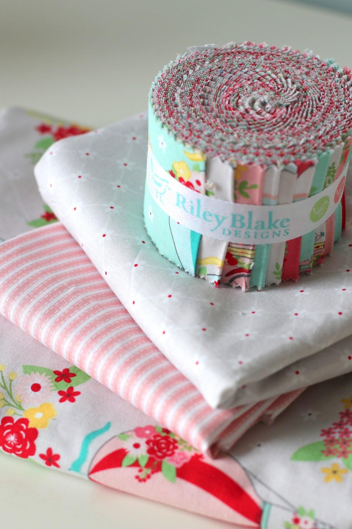Vintage Adventure Scrappy Nines Baby Quilt Tutorial - Riley Blake Designs