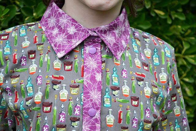 Жуткие платья - дизайн Riley Blake