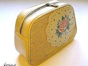 7409d34b0323 Особенности обработки сумок кедером. Шьем косметичку с каркасом
