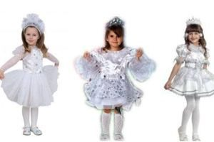 Костюм снежинки для девочки своими руками, пошаговая инструкция. Как сшить костюм снежинки для девочки в домашних условиях