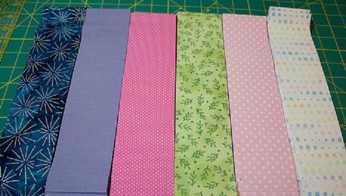 Две полосы для создания рисунков шитья