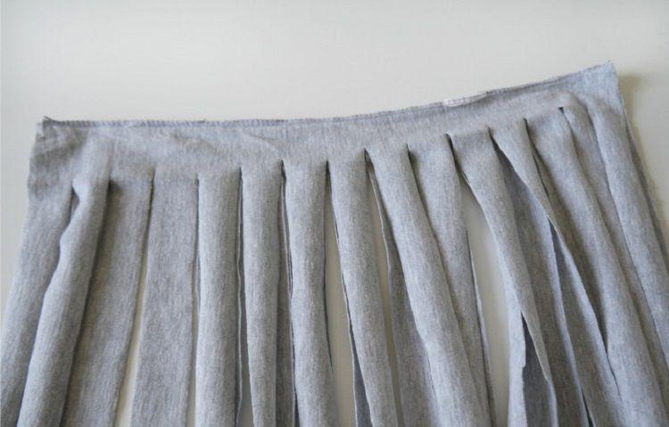 Схема вязания коврика крючком из старого трикотажа