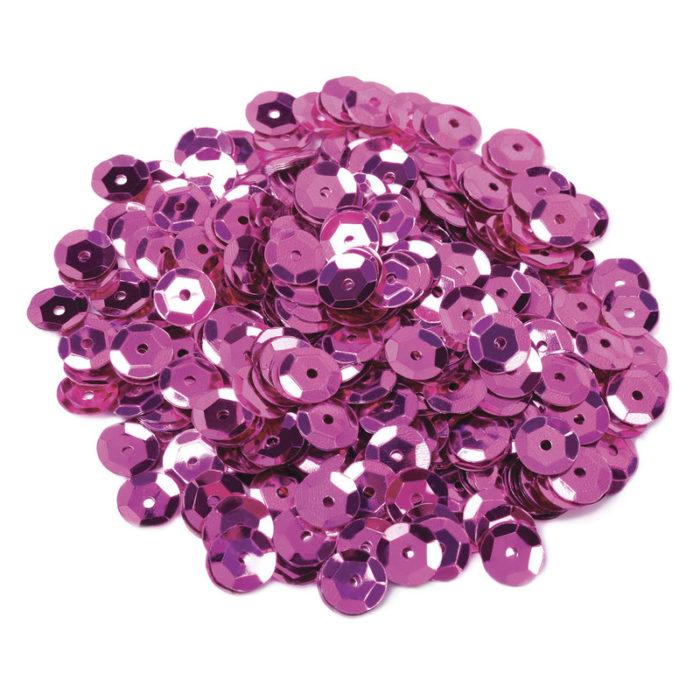 фиолетовые пайетки