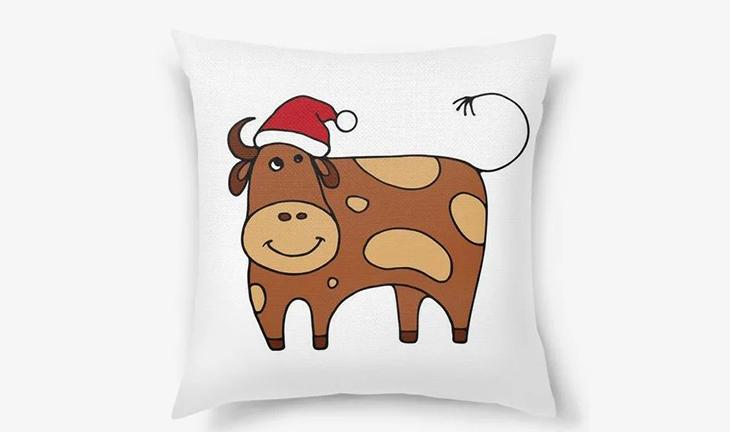 Подушка-бык