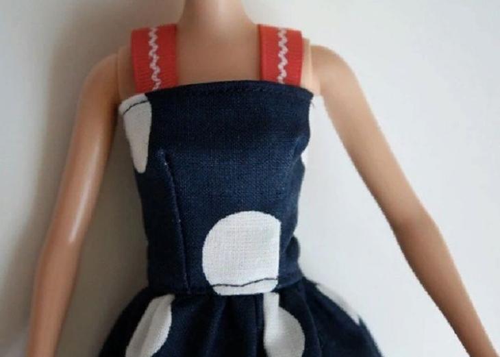 Мастер-класс по пошиву платья для куклы Барби