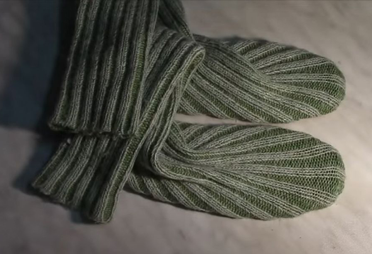 Мастер-класс по пошиву сапог из старого свитера