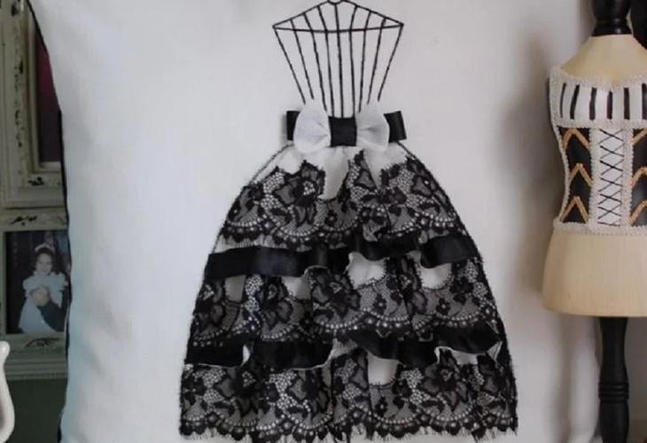 Мастер-класс по пошиву декоративной подушки