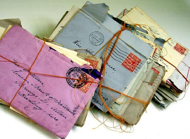 Старые конверты