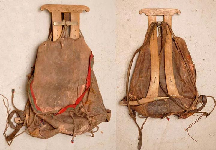 Прообраз рюкзака