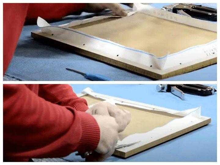 Изготовление рамки для алмазной мозаики