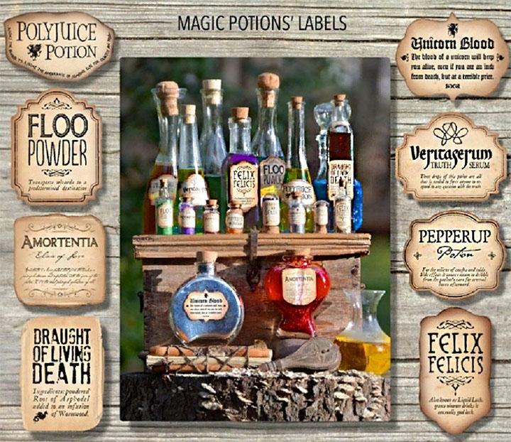 Коллекция волшебного зелья
