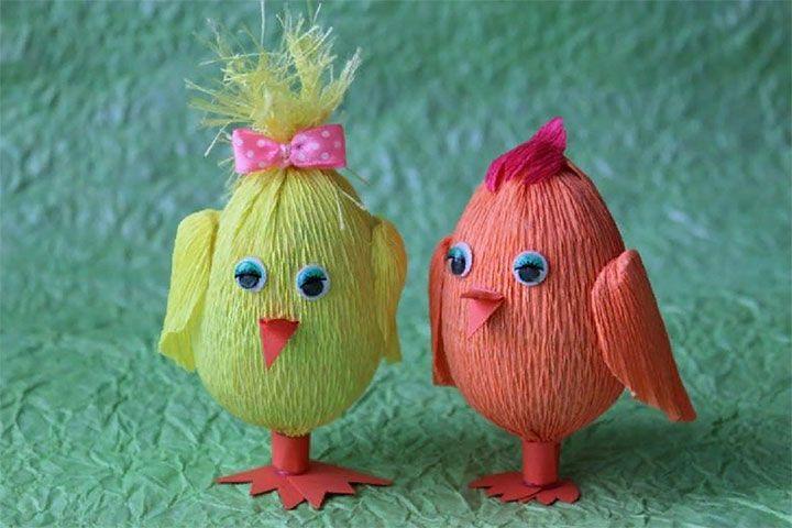 Птенцы из яиц