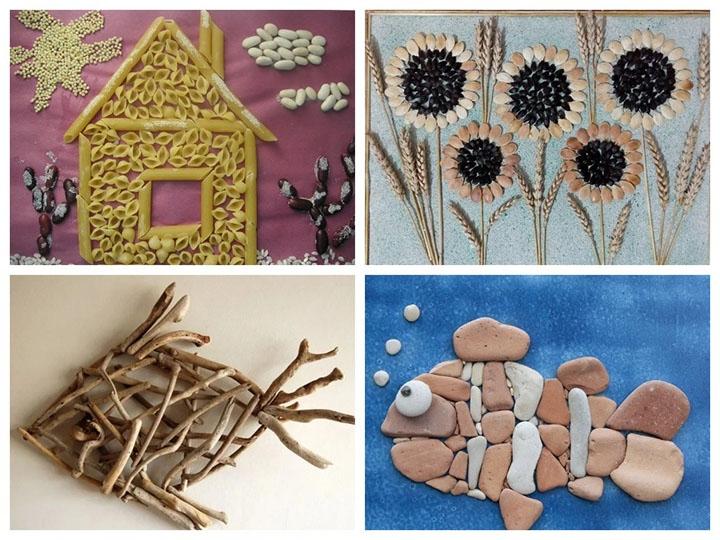 Поделки в садик из подручных материалов