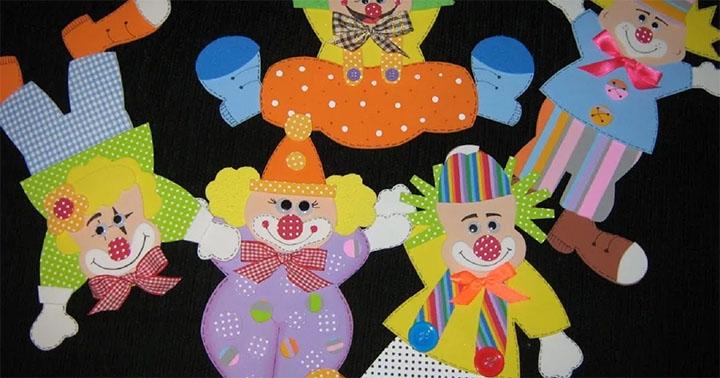 Поделка клоун своими руками