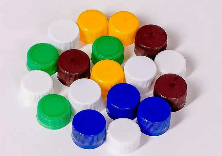 Пластиковые крышки для поделки