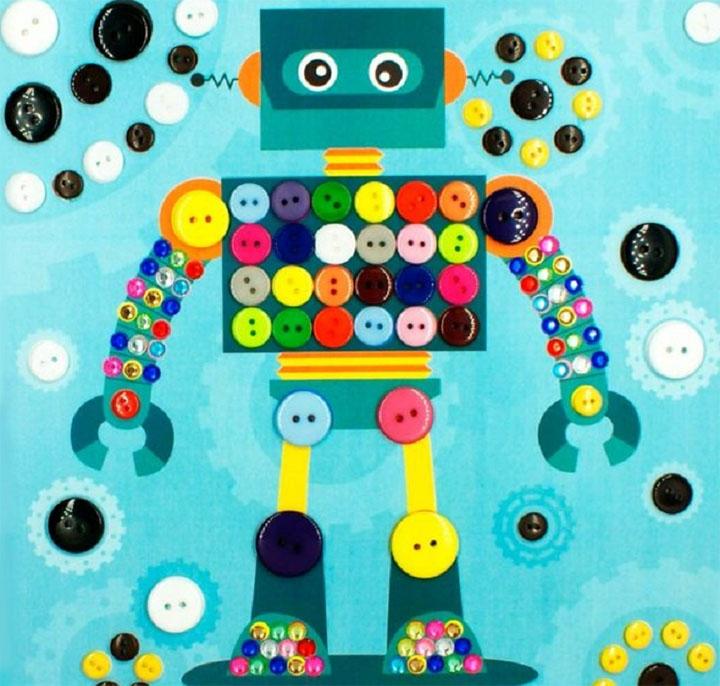 Аппликация робот