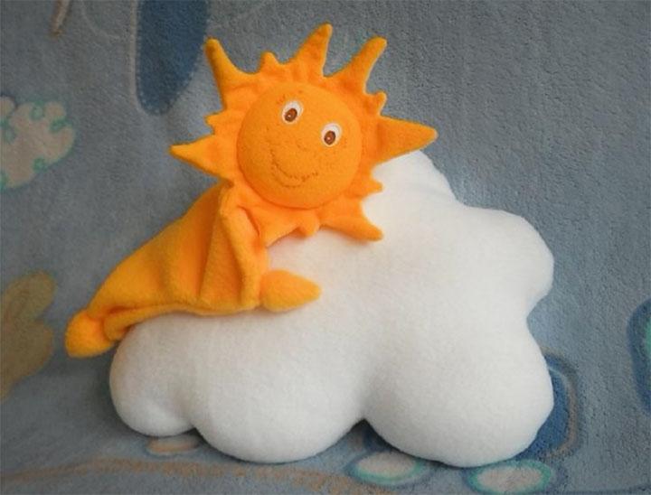 Солнце из ткани