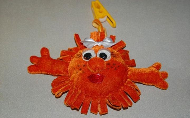 Игрушка-солнце для детей