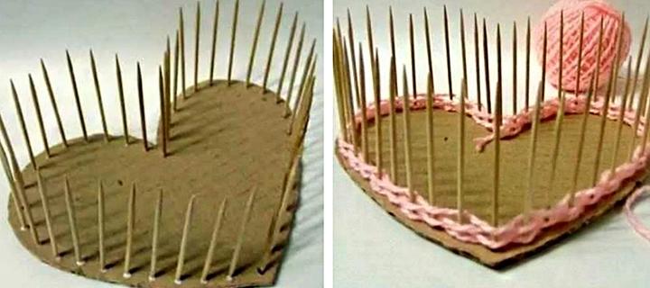 Изготовление шкатулки в виде сердца