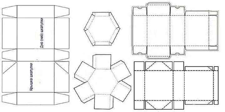 Схема для шкатулок