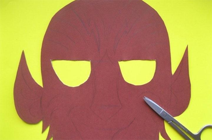 Изготовление маски Шурале