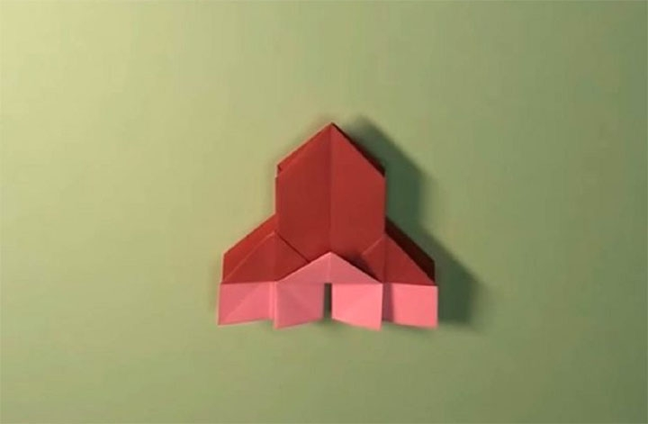Оригами-церковь