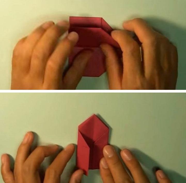 Сборка церкви-оригами