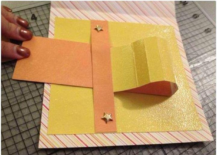 Изготовление открытки-водопада