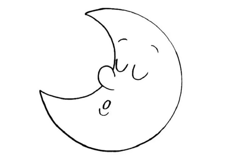 """Поэтапное изготовление поделки """"Луна-сплюшка"""""""